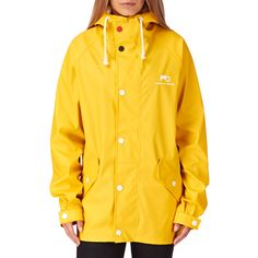 Moods Of Norway Reine Pu Jacket - Yellow | Free UK Delivery