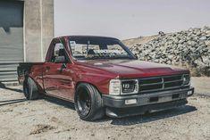 1988 #Toyota_Pickup #Single_Cab #Modified #Slammed #Stance