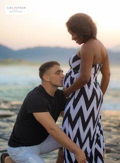 Oahu Maternity - Lisa Putnam Photography