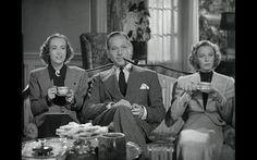 """The Shining Hour"", 1938 Joan Crawford, Margaret Sullavan, Melvyn Douglas"