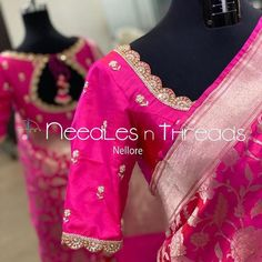 Cutwork Blouse Designs, Pattu Saree Blouse Designs, Simple Blouse Designs, Stylish Blouse Design, Blouse Neck Designs, Traditional Blouse Designs, Hand Work Blouse Design, Bridal Style, Sarees