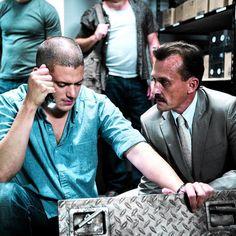 Michael Scofield and T-Bag #PrisonBreak #4season