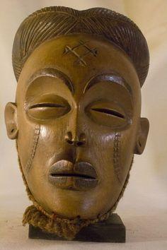 Beautiful Chokwe - Tshokwe Mask - Congo DRC -African
