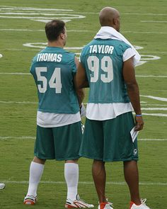 Zach and Jason, two of the greatest Dolphin Players