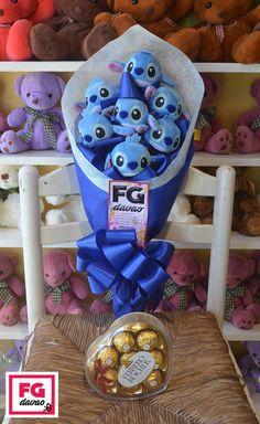 Stitch Bouquet and Chocolates