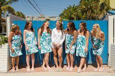 Bridesmaids... Hollywood Beach Marriott