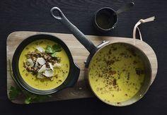 Linsesuppe med citronolie og parmesan | Bobedre.dk