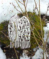 Ravelry: Pussy Willow pattern by Natalia Moreva Knitting Charts, Hand Knitting, Knitting Patterns, Knitted Mittens Pattern, Knit Mittens, Wrist Warmers, Hand Warmers, Crochet Quilt, Knit Crochet
