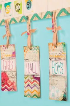 Keep track of where your students are headed with these retro chic hall passes!