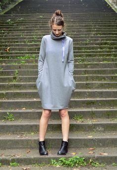Dresowa sukienka L/XL w ivy-style na DaWanda.com