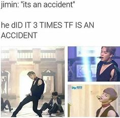 Jimin is caught in a lie