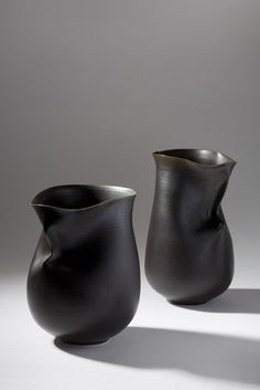 thrown and altered vessels by artist Sara Flynn