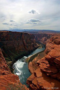 Horseshoe Bend on the Colorado River   Arizona - USA