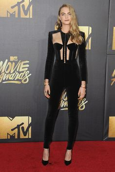 See the Best Looks From the MTV Movie Awards: Cara Delevingne