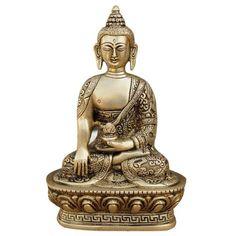 Meditation Buddha Collectibles and Figurines Brass Sculpture ShalinIndia http://www.amazon.in/dp/B0053AW3NY/ref=cm_sw_r_pi_dp_NYwaub0K6WYD5