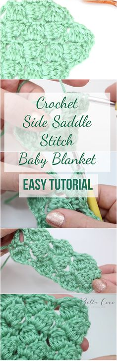 Learn to crochet the side saddle stitch baby blanket by following this detailed an free video tutorial. The article has a free tutorial + free video! Crochet Tutorials For Beginners | Crochet Stitches For Beginners | Free Crochet Videos | Free Crochet Patterns | Crochet Blankets For Beginners | Crochet Baby Blanket| Crochet For Beginners | Crochet Patterns | Crochet Stitches | DIY Crochet | #crochetlove #crocheters #crochettutorial #crochetblankets #crochet #crochetpattern…