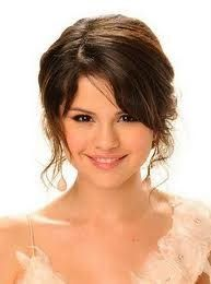 Selena Gomez media gallery on Coolspotters. See photos, videos, and links of Selena Gomez. Side Bangs Hairstyles, Easy Hairstyles For Long Hair, Permed Hairstyles, Hairstyles For Round Faces, Latest Hairstyles, Wedding Hairstyles, Bridesmaid Hairstyles, Wedding Updo, Wedding Makeup