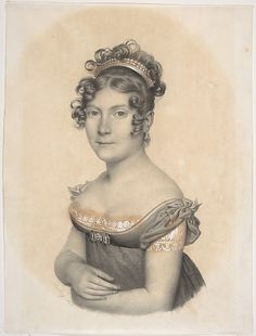 """""""Lady at the Court of Napoléon I"""", attr Jean-Baptiste Isabey, 1804; MMA 95.14.48"""