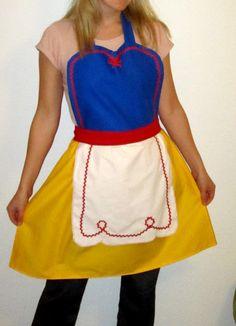 I know a few ladies who would like a princess apron (umm.. DD)!