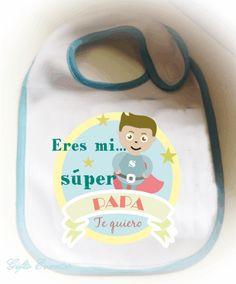 Regalo personalizado para un nuevo papa WWW.giftseventos.es