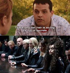 What secrets does Bellatrix have 0.o