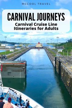 Carnival Cruise Line's Carnival Journeys offer longer immersive itineraries perfect for adult passengers and budget travelers. Packing List For Cruise, Cruise Tips, Cruise Travel, Travel Usa, Travel Advice, Travel Guides, Travel Articles, Travel Hacks, Travel Tips