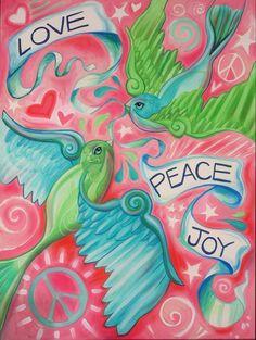 """""""Love Sparrows"""" by Shen @ ShenStudio.com"""