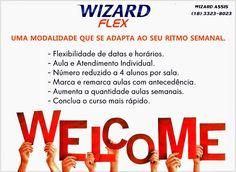 WIZARD ASSIS - Escola de Idiomas: WIZARD FLEX - RITMO FLEXÍVEL PARA CURSO DE INGLÊS....