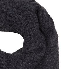 Buy John Lewis Cashmere Cable Knit Snood Online at johnlewis.com