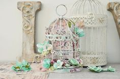 Hi there,   I have a long post of piccies to share today. The rest of my CHA samples I created for the Prima Marketing Booth for the Creat...