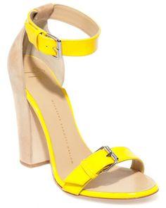 Not so mellow yellow. Yellow Sandals, Yellow Heels, Giuseppe Zanotti Heels, Mellow Yellow, Shoe Closet, Boutique, Me Too Shoes, Fashion Shoes, Women's Fashion
