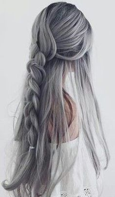 Hair color trends are increasingly varied and rapidly changing. After the trendy strawberry blonde hair color before, now the … Natural Braided Hairstyles, Weave Hairstyles, Pretty Hairstyles, Beautiful Braids, Gorgeous Hair, Strawberry Blonde Hair Color, Natural Hair Styles, Long Hair Styles, Alternative Hair