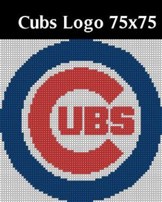 Cross Stitch Boards, Cross Stitch Bookmarks, Cross Stitch Embroidery, Cross Stitch Patterns, Chicago Cubs Colors, Chicago Cubs Logo, Dora Coloring, Baseball Cross, Bear Paw Print