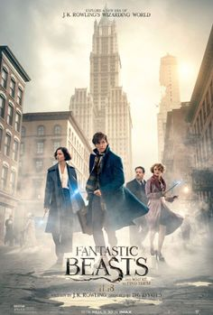 Directed by David Yates. With Jon Voight, Eddie Redmayne, Ezra Miller, Colin Farrell. The adventures of writer Newt Scamander in New York's secret community of witches and wizards seventy years before Harry Potter reads his book in school. So excited! Fantastic Beasts 2016, Fantastic Beasts And Where, Film Fantastic, Fantastic Beasts Poster, Hd Movies, Movies To Watch, Movies Online, Movie Tv, Movies Free