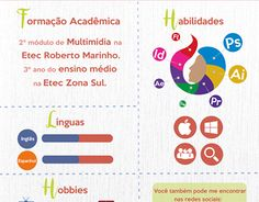 """Check out new work on my @Behance portfolio: """"Currículo Infográfico"""" http://be.net/gallery/42729477/Curriculo-Infografico"""