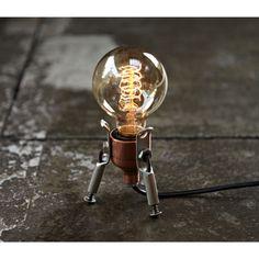 Lâmpadas De Luz De Mesa Decoração Casa De Lâmpada De Mesa De Iluminação Artesanal De Luz De Torneira Cool