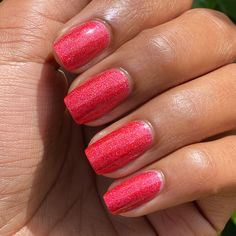 Shine bright every night as you go around and #PaintTheTinseltownRed! Unforgettable red nails for a festive holiday season. #ColorIsTheAnswer #OPICelebration #RedNails #PartyNails #HolidayNails #FestiveNails #OPIObsessed #NailGoals #HolidayMani #RedMani #GlitterNails #GlitterMani #NYENails #NYEMani #NailsOnFleek #NOTD #ShimmerMani #BoldMani #NailsOfInstagram #NailedIt!