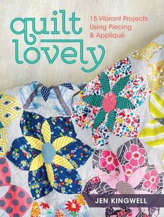 Enjoy 15 projects in a loved quilting technique--patchwork. Historically patchwork was born out of necessity and material scarcity but now patchwork has been re-defined in modern times with colorful palates and technique exploration.    Join Jen