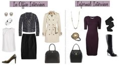 What to wear to office interview vs informational interview What To Wear Today, How To Wear, Interview Attire, Build A Wardrobe, Outfit Combinations, Office Fashion, Work Attire, Fall Winter Outfits, I Love Fashion