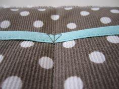 Coudre un triangle pour renforcer la couture des poches