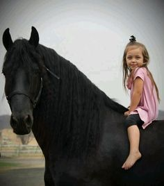 ~.~Kids and horses.