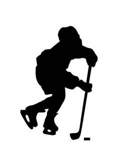 hockey players silhouettes - Yahoo Search Results