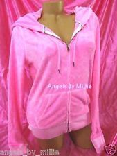 LAST  ONE! ❤️99 Cent #ebay #auctions end #sunday #VSPINK ❤️NEW Victoria's Secret PINK XS Neon Beach Terry Essential Zip Hoodie Sweat shirt