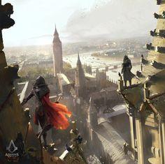 Assassin's Creed Syndicate concept, Tony Zhou Shuo on ArtStation at https://www.artstation.com/artwork/xdxZR