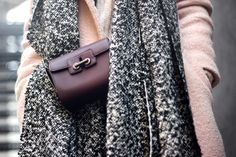 Sirma Markova: Wool and Leather Layers/ Choies scarf - http://www.choies.com/product/gray-soft-raw-edge-scarf_p36569?cid=370bella