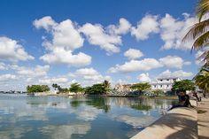 Cienfuegos bay, Cuba.