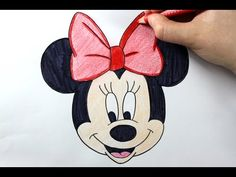 Dibujar paso a paso a Minnie Mouse / How to draw Minnie Mouse (DibujaryCrear) - YouTube