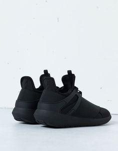 Men's elastic fashion sneakers - All - Bershka United Kingdom