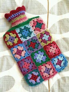 Little granny squares!