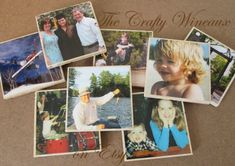 Custom Travertine Photo Coasters - Made to feature ANYTHING you can dream of! - pinned by pin4etsy.com